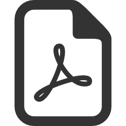 File Types Pdf icon